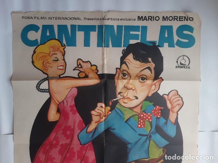 Cine: CARTEL CINE CANTINFLAS SUBE Y BAJA 1971 JANO C466 - Foto 2 - 186366385