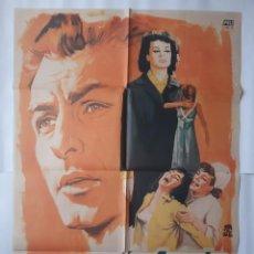 Cine: CARTEL CINE MAS FUERTE QUE SU AMOR 1966 MONTALBAN C468. Lote 186366697