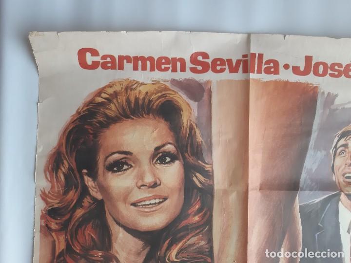 Cine: CARTEL CINE ENSEÑAR A UN SINVERGUENZA CARMEN SEVILLA 1979 C471 - Foto 4 - 186367441