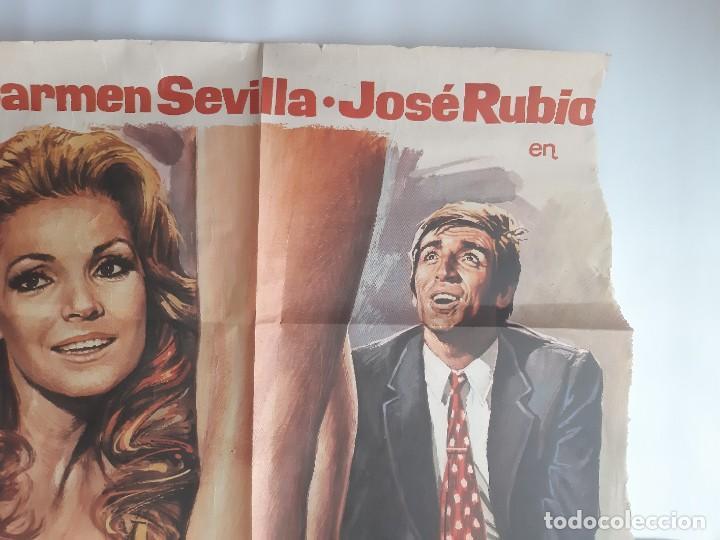 Cine: CARTEL CINE ENSEÑAR A UN SINVERGUENZA CARMEN SEVILLA 1979 C471 - Foto 5 - 186367441