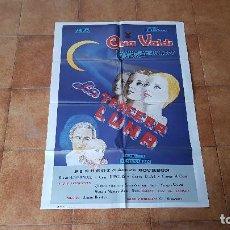 Cine: POSTER CARTEL LA TERCERA LUNA - 1984 (100 X 70 CMS. APROX.) DIR. G. ALMENDROS. Lote 186393741