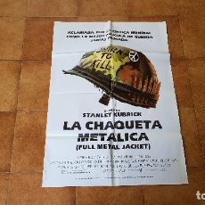 Cinema: POSTER CARTEL LA CHAQUETA METALICA (100 X 70 CMS. APROX.) UN FILM DE STANLEY KUBRICK. Lote 186414200