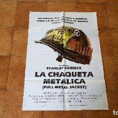 Cinéma: POSTER CARTEL LA CHAQUETA METALICA (100 X 70 CMS. APROX.) UN FILM DE STANLEY KUBRICK. Lote 186414302