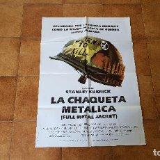 Cinéma: POSTER CARTEL LA CHAQUETA METALICA (100 X 70 CMS. APROX.) UN FILM DE STANLEY KUBRICK. Lote 186414318