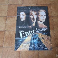 Cine: POSTER CARTEL ENTRE DOS MUJERES - INTERSECTION (100 X 70 CMS. APROX.) RICHARD GERE Y SHARON STONE. Lote 186415395