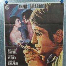Cine: LA VIDA PRIVADA DE UNA DOCTORA. ANNIE GIRARDOT. AÑO 1981. POSTER ORIGINAL. Lote 186439571
