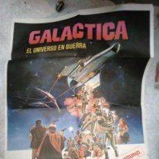 Cine: GALÁCTICA EL UNIVERSO EN GUERRA ARTEL ORIGINAL MEDIDAS 70 X 100. Lote 186696502