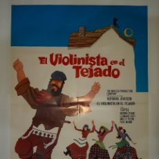 Cine: CARTEL CINE EL VIOLINISTA EN EL TEJADO 1971 C481. Lote 187100348