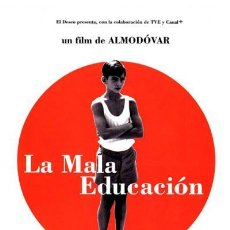 Cine: LA MALA EDUCACIÓN (POSTER). Lote 187107377
