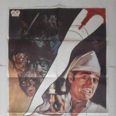 Cine: CARTEL CINE ESPAÑOL EL LIGERO MAGICO ANDRES PAJARES ADRIANA VEGA ANTONIO OZORES 1980 JANO C484. Lote 187309016