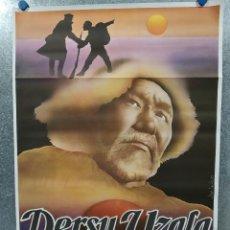 Cinéma: DERSU UZALA (EL CAZADOR) MAKSIM MUNZUK, YURIY SOLOMIN. POSTER ORIGINAL. Lote 187321471