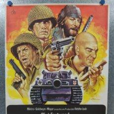 Cinema: LOS VIOLENTOS DE KELLY.CLINT EASTWOOD, DONALD SUTHERLAND, TELLY SAVALAS. AÑO 1981. POSTER ORIGINAL. Lote 187323605
