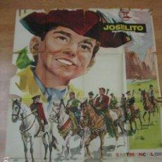 Cine: EL PEQUEÑO CORONEL - POSTER CARTEL ORIGINAL - JOSELITO TOMAS BLANCO ANTONIO DEL AMO SUEVIA. Lote 187422886