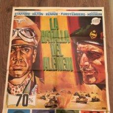 Cinema: CARTEL DE CINE DEL ESTRENO DE LA PELÍCULA LA BATALLA DEL ALEMEIN (1969). Lote 187542547