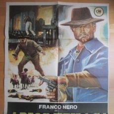 Cine: CARTEL CINE ADIOS, TEXAS! FRANCO NERO JOSE SUAREZ 1976 C1740. Lote 187598416