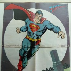 Cine: PÓSTER DOBLE DE SUPERMAN. REVISTA LECTURAS (60 X 46). Lote 187628666