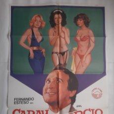 Cine: CARTEL CINE CARAY CON EL DIVORCIO 1982 JANO C459. Lote 188202957