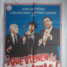 Cine: CARTEL CINE QUE VIENEN LOS SOCIALISTAS 1982 HP C460. Lote 188206203
