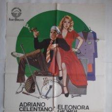 Cine: CARTEL CINE MANOS DE SEDA 1980 HP GRAFICO C463. Lote 188221035