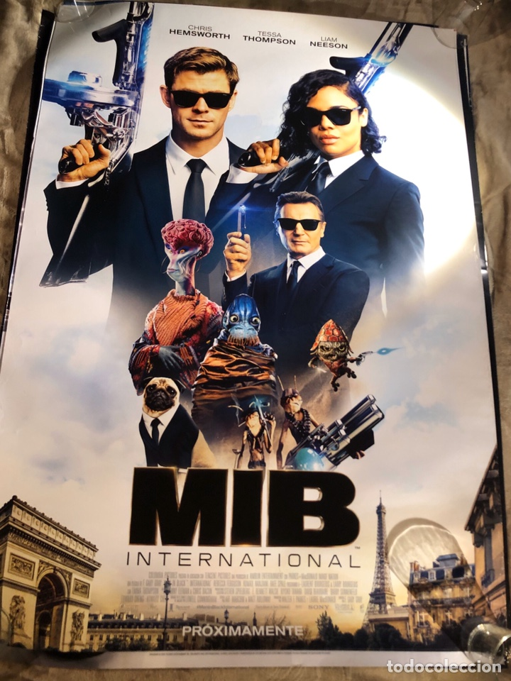 Cine: MEN IN BLACK MIB INTERNACIONAL 2 POSTER Diferentes CINE 70x100cm - Foto 2 - 188471833