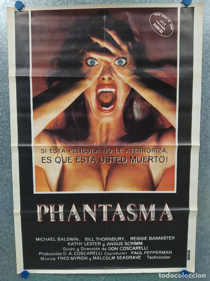 PHANTASMA. A. MICHAEL BALDWIN, ANGUS SCRIMM. AÑO 1979. POSTER ORIGINAL (Cine - Posters y Carteles - Terror)