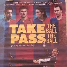 Cine: PÓSTER TOCA Y PASA EL BALÓN (TAKE THE BALL, PASS THE BALL, 2018). Lote 188800411