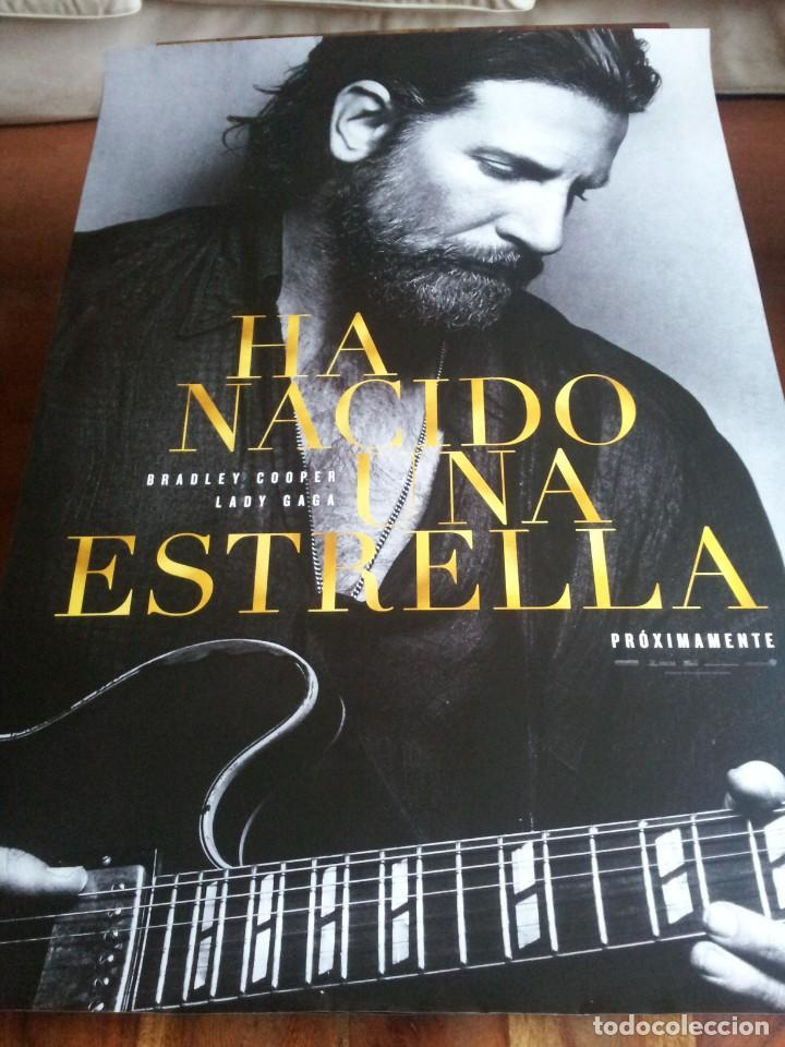 HA NACIDO UNA ESTRELLA - BRADLEY COOPER, LADY GAGA, SAM ELLIOTT - CARTEL ORIGINAL PREVIO AÑO 2018 (Cine - Posters y Carteles - Musicales)