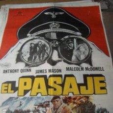 Cine: PÓSTER ORIGINAL DE 100X70CM EL PASAJE. Lote 189219583
