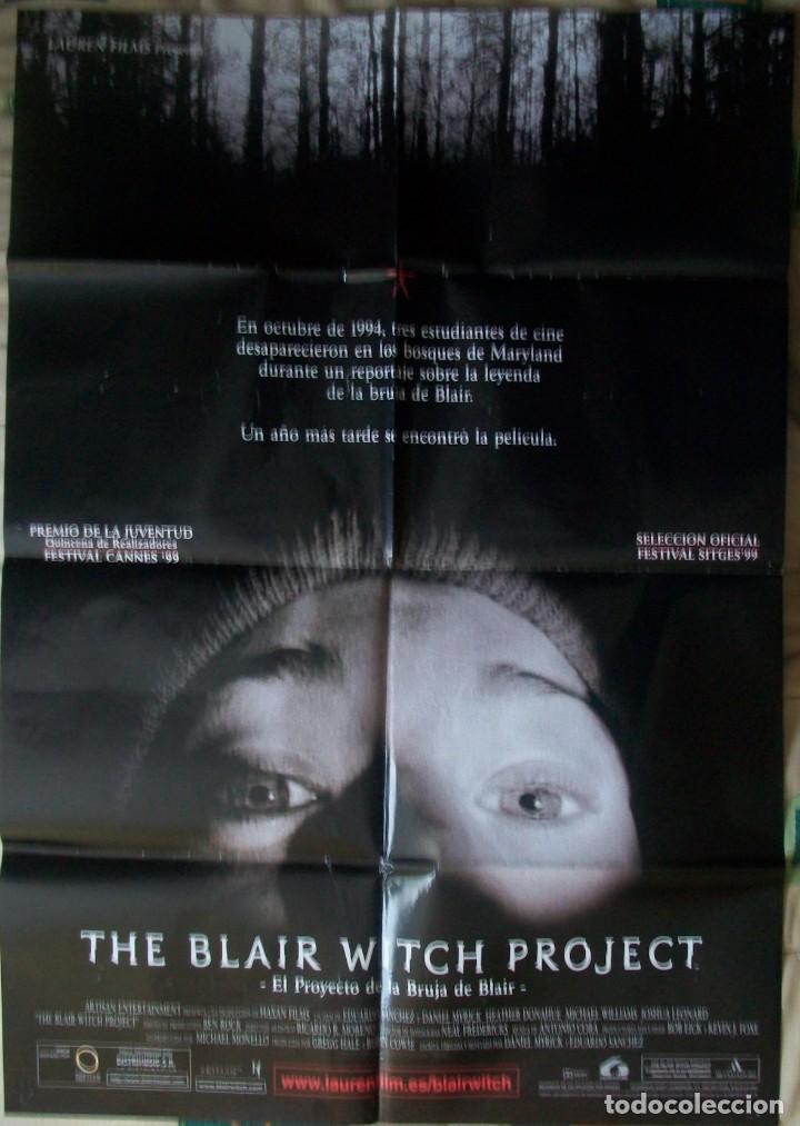CARTEL/PÓSTER ORIGINAL DE LA PELÍCULA THE BLAIR WITCH PROYECT (EL PROYECTO DE LA BRUJA DE BLAIR) (Cine - Posters y Carteles - Terror)