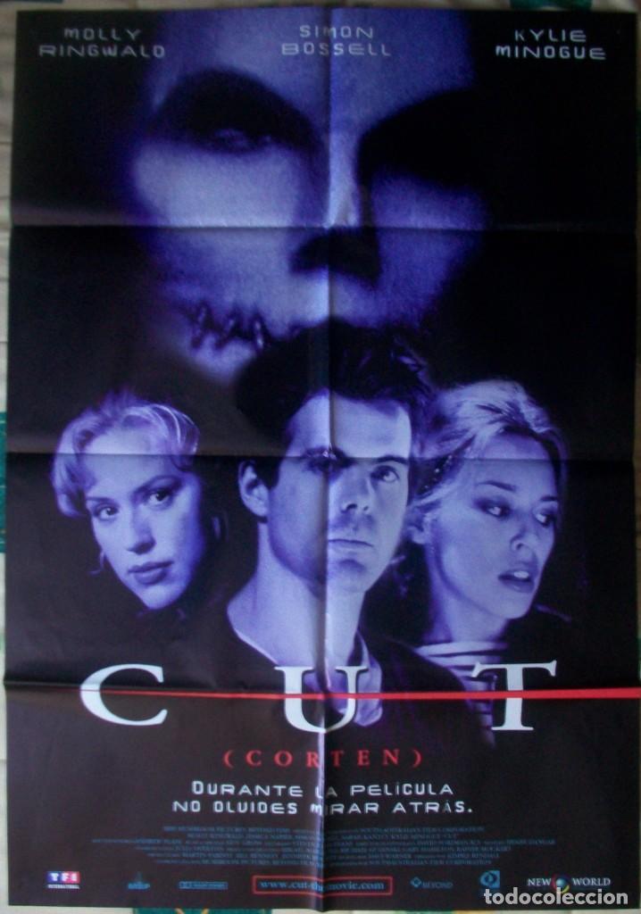 CARTEL/PÓSTER ORIGINAL DE LA PELÍCULA CUT (CORTEN) (Cine - Posters y Carteles - Terror)