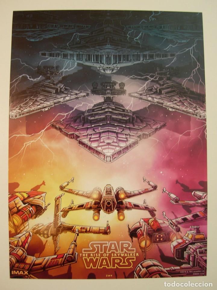 STAR WARS EL ASCENSO DE SKYWALK - LÁMINA PUBLICITARIA ORIGINAL IMAX LUCASFILM 2019 NUEVA (Cine - Posters y Carteles - Ciencia Ficción)