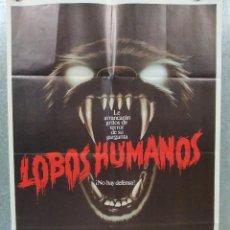 Cine: LOBOS HUMANOS. ALBERT FINNEY, DIANE VENORA, EDWARD JAMES OLMOS. AÑO 1982. POSTER ORIGINAL. Lote 189810551