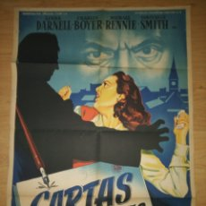 Cinema: CARTAS ENVENENADAS (OTTO PREMINGER). Lote 189884773