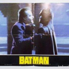 Cine: MINI PÓSTER DE LA PELÍCULA BATMAN 1989 TIM BURTON JACK NICHOLSON MICHAEL KEATON JOKER. Lote 189997245