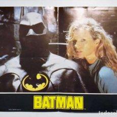 Cine: MINI PÓSTER DE LA PELÍCULA BATMAN 1989 TIM BURTON KIM BASINGER KEATON JOKER. Lote 189997596