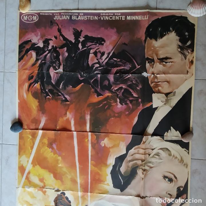 Cine: Los cuatro jinetes del apocalipsis. Glenn Ford, Ingrid Thulin AÑO 1962. POSTER 3 HOJAS DE 100 X 70 - Foto 2 - 190141070