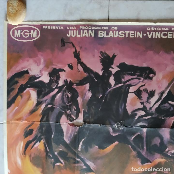 Cine: Los cuatro jinetes del apocalipsis. Glenn Ford, Ingrid Thulin AÑO 1962. POSTER 3 HOJAS DE 100 X 70 - Foto 5 - 190141070