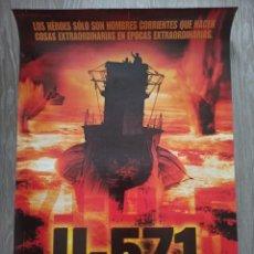 Cine: PÓSTER U-571. Lote 190202768