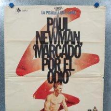 Cine: MARCADO POR EL ODIO. PAUL NEWMAN, PIER ANGELI. AÑO 1981. POSTER ORIGINAL . Lote 190234238
