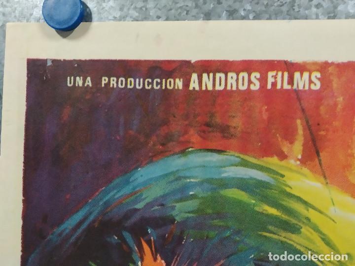 Cine: La perversa caricia de Satán. Silvia Solar, Olivier Mathot, Daniel Martí AÑO 1973. POSTER ORIGINAL - Foto 2 - 190241083