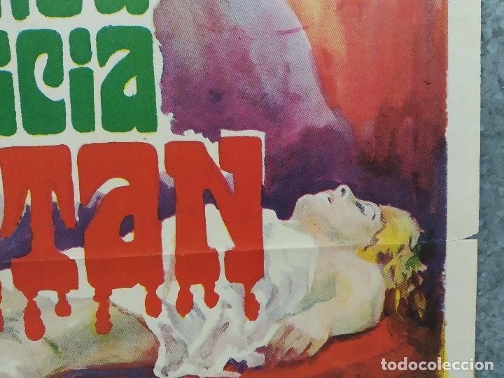 Cine: La perversa caricia de Satán. Silvia Solar, Olivier Mathot, Daniel Martí AÑO 1973. POSTER ORIGINAL - Foto 5 - 190241083