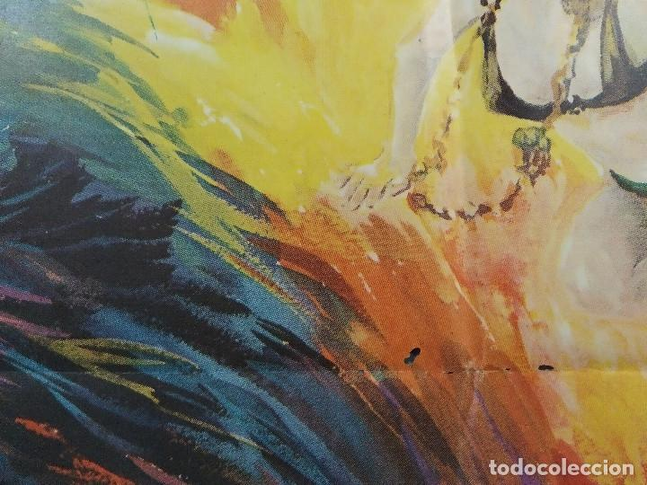 Cine: La perversa caricia de Satán. Silvia Solar, Olivier Mathot, Daniel Martí AÑO 1973. POSTER ORIGINAL - Foto 10 - 190241083