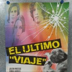 Cine: EL ULTIMO VIAJE. JULIAN MATEOS, SIMON ANDREU. AÑO 1973 . POSTER ORIGINAL. Lote 190272808