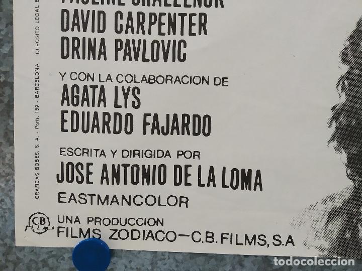 Cine: EL ULTIMO VIAJE. JULIAN MATEOS, SIMON ANDREU. AÑO 1973 . POSTER ORIGINAL - Foto 5 - 190272808