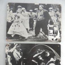 Cine: CARTELES DE CINE MUDO ORIGINAL - EL GRAN CARA DE PALO -BUSTER KEATON. Lote 190400138