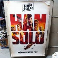 Cine: HAN SOLO UNA HISTORIA DE STAR WARS POSTER ORIGINAL 70X100 AVANCE. Lote 190441346