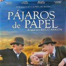 Cine: PÁJAROS DE PAPEL - CARTEL DE CINE ORIGINAL 70 X100. Lote 190482987