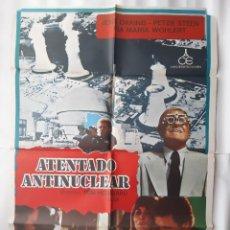 Cine: CARTEL CINE ATENTADO ANTINUCLEAR ILUSTRA HP 1979 C 524. Lote 190524775