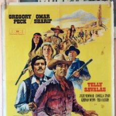Cine: EL ORO DE MACKENNA. GREGORY PECK-OMAR SHARIF. CARTEL ORIGINAL 1969. 70X100. Lote 190554868