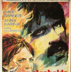 Cine: EL REBELDE. CARTEL ORIGINAL 1970. 70X100. Lote 190555216